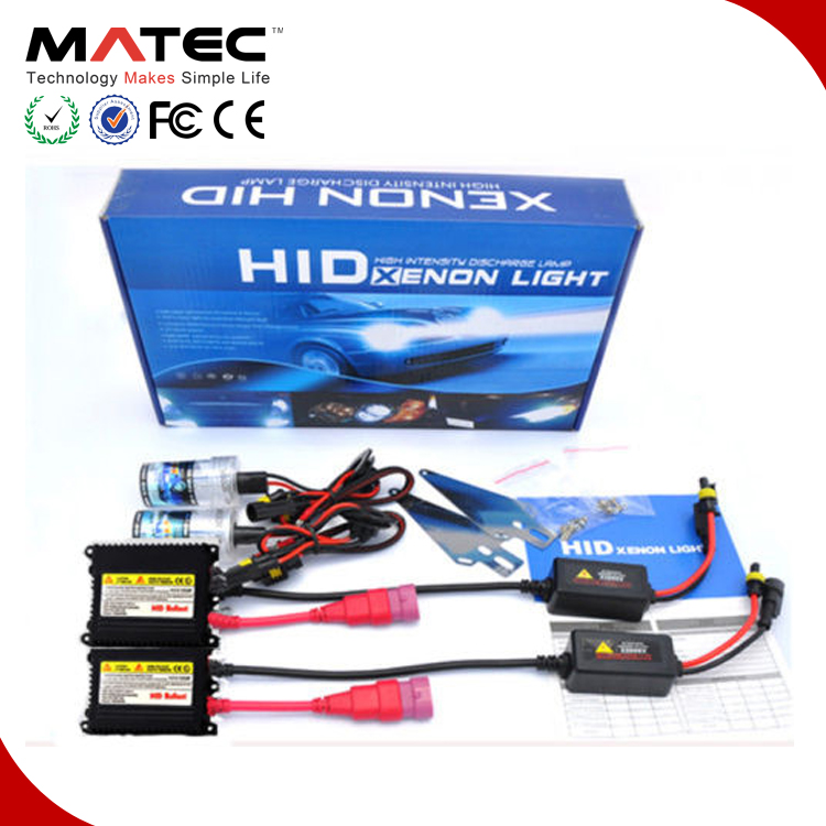Manufacture Supplier 3000/6000/8000k HID headlight conversion kit H4-1 H4-2 H4-3 H7 H13 D1S D2S D3S D4S 9005/6 25w hid xenon kit