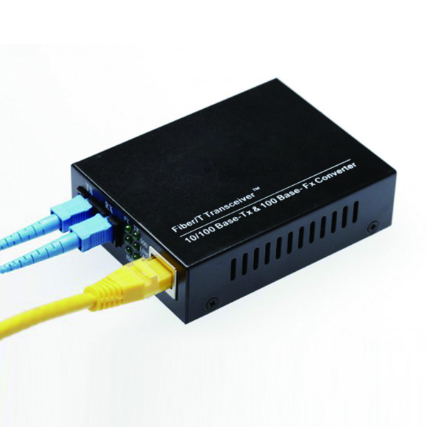 Ethernet 100M Media Converter 10/100 base fiber transceiver sfp to rj45 optical converter