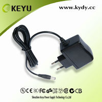 5.5mm 2.5mm jack connector 120v to 12v converter 6w ac dc adaptor