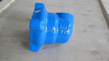 Ductile cast iron pipe fittings end cap