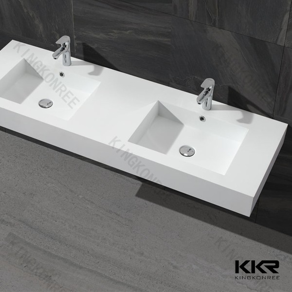KKR solid surface lighted bathroom sinks