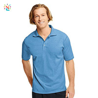 New Apparel Men Plain Polo Shirts