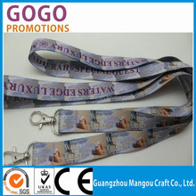 funky lanyard with ID pouch for company staff,Smooth sublimation lanyards with two side logo print
