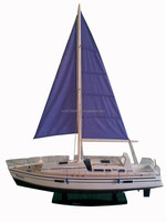 WAMMES WOODEN MODEL SAILING BOAT
