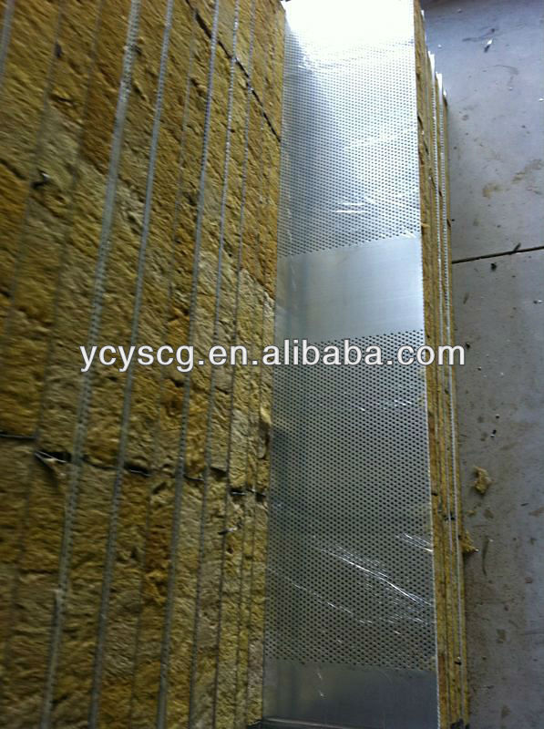 Sound-absorbing Rockwool Sandwich Panel