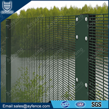 Powder Coated Galvanized Anti Climb Welded 358 High Security Wire Mesh Fence Panel for Prison
