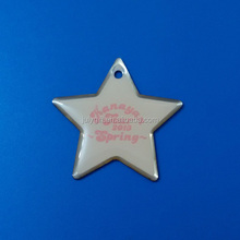 Star shaped lapel pin emblem