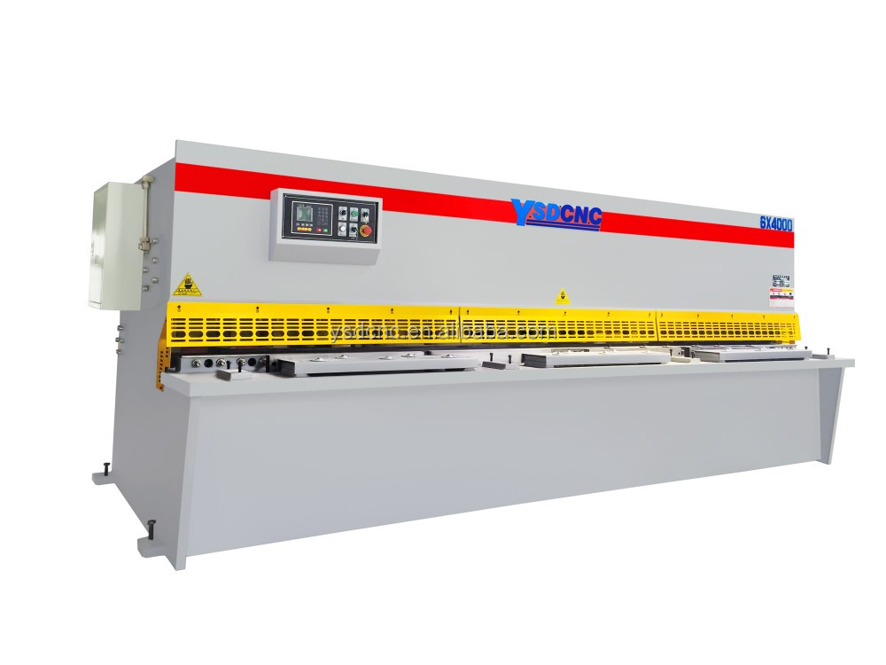 <strong>Q11</strong> 4meters iron plate shearing machine steel plate cutting machine for sale