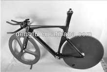 Best selling Dengfu fashionable chinese carbon TT bike frame FM087