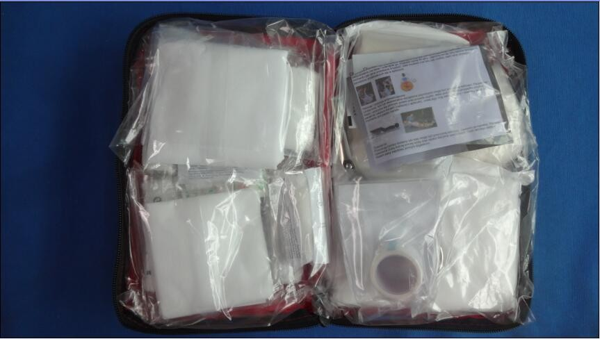 full bag both avaliable red first aid kit