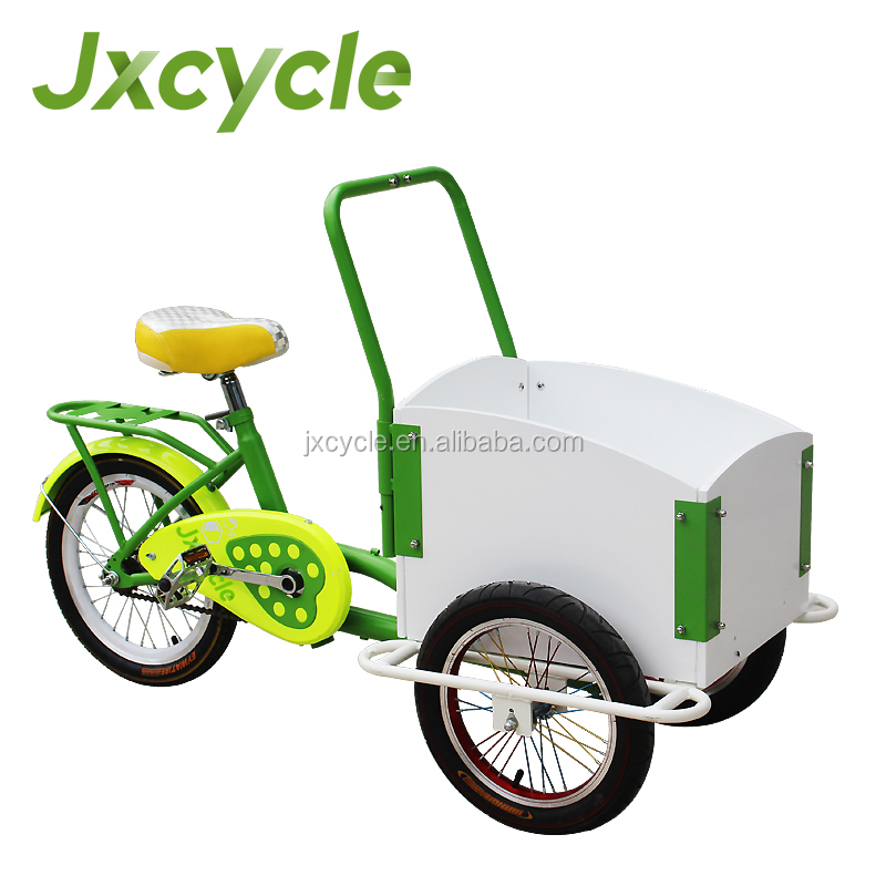 Tricycle mini cargo bike for children/kids
