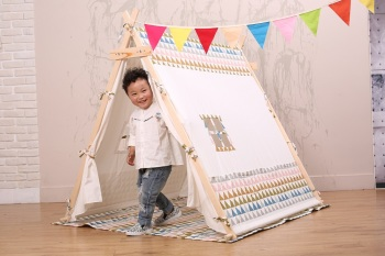 Large kids teepee children play toys mini house tent  sc 1 st  Ningbo Rock Paper Scissors Children Co. Ltd. & Large kids teepee children play toys mini house tent View ...