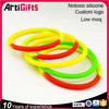 Promotional gifts custom embossed silicone bracelet