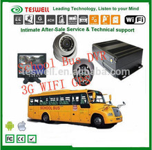 TESWELL SD card mobile dvr (MDVR) with GPS Tracking Real-Time Video Vibration Test; Military Standard