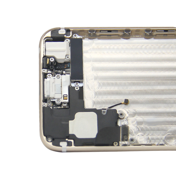 Factory direct selling black gold housing for apple iphone 6