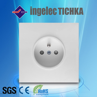 top quality power outlet,male electrical wall socket