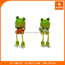 Chinese supplier resin animal with vegetable tiny figurines