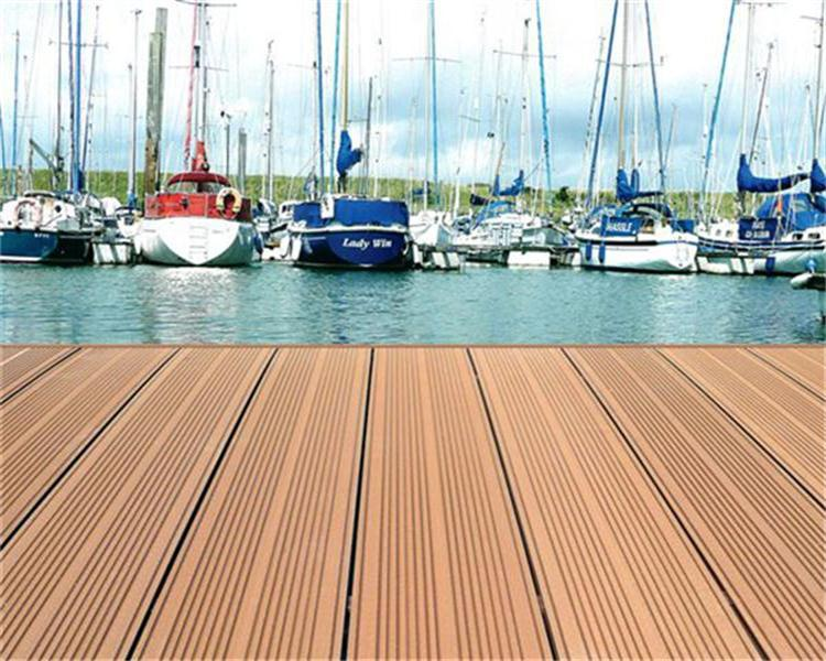 Anti UV <strong>and</strong> non-slip wood composite decking tiles wpc outdoor flooring board