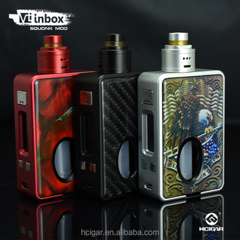 2017 squonk mod vt inbox new color HCigar the first one squonk mod VT inbox