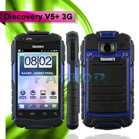 Waterproof 3.5 inch bluetooth Discovery V5+ 3G Android 4.2 hong kong cheap price mobile phone