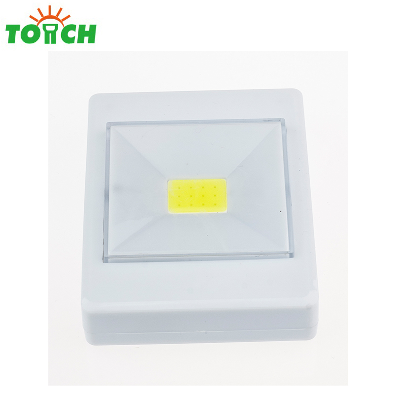 200 lumen COB cabinet light LED switch light 3 *AAA battery