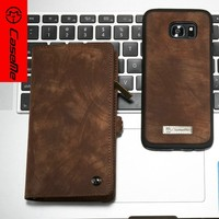 CaseMe wholesale clear for samsung cases,for samsung clear case,new cell phone 2 in 1 wallet leather cover