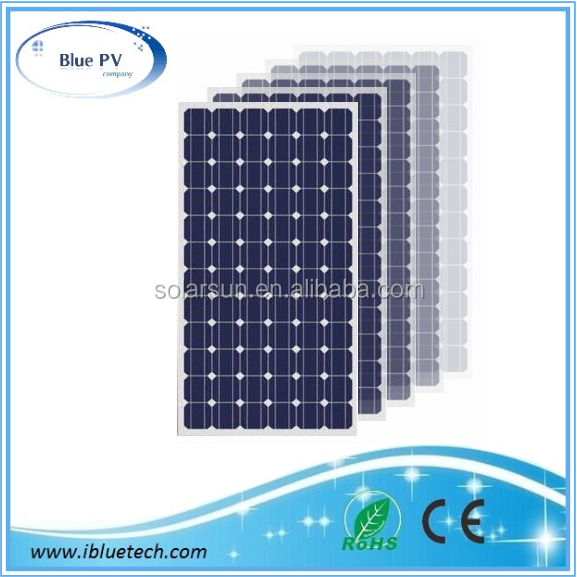 Good quantity High efficiency 10W, 100W, 200W solar panels for solar system