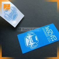 Custom garment label packaging