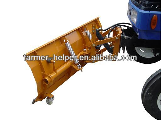 hot sale hydraulic cheap farm tractor snow plow in Europe