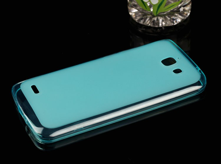 Semi- Transparent tpu soft cell phone case for Sony Xperia L1 tpu cover