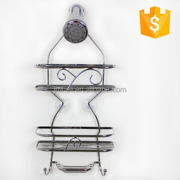 Heli factory 3 tiers cheap wire baskets for bathroom shampoo