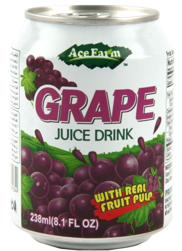Fruit Juice with real Pulp - Grape