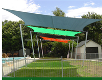 green house roof sun shade net, garden sun shade sail with uv treatment, nursery shade mesh