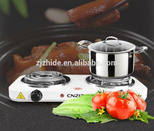 cnzidel stamping two burner electric cooking solar powered stove
