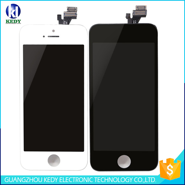 "5pcs AAA+ LCD Assembly for Apple Iphone 5 5g 4.0"" LCD with Digitizer Screen 100% Tested"