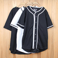 Customized Men's golf shirt sport shirt casual black cotton shirt