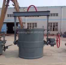 hot Geared Iron Ladle/Casting ladle equipment