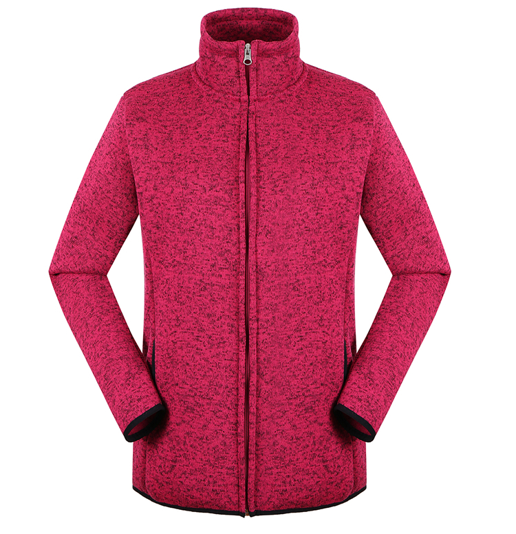 women's winter red jacket ,leisure jacket sportswear ,OEM high quantity professional jacket factory .