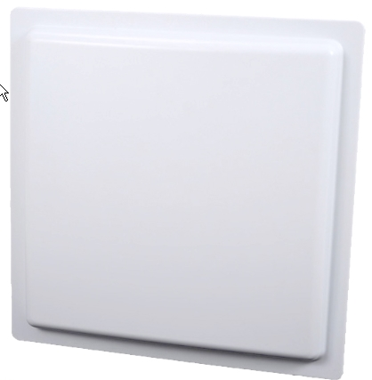 900MHz ABS material waterproof high gain 12dBi circular Polarization RFID UHF antenna for access control system