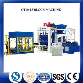 electric block making machine