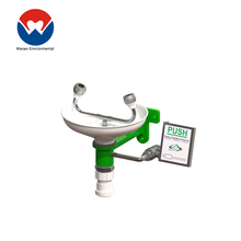 1 year warranty portable safety shower and eye wash unit station