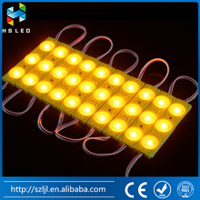 Yellow DC12V 1.5W 3pcs SMD5730 Injection LED Lens Module---Color Optional