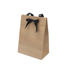 Kraft paper packaging bags for fashion gift/clothes