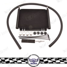 universal car 19 Row aluminum auto radiator plate and fin transmission oil cooler