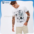 wholesale custom 100% cotton silk screen printed mens tshirt