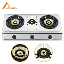 Royal Lpg Gas Range,Universal Glass Top Triple 3 Burner Gas Stove Manufacturers China