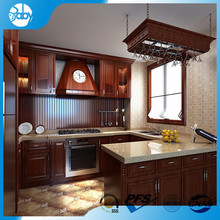 teak orange kitchen cabinet for hotel