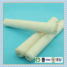 expanded bleached rawhide roll pet dental stick dog chew