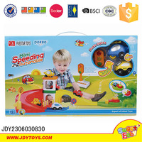 Battery Operated Plastic Car Track Toys