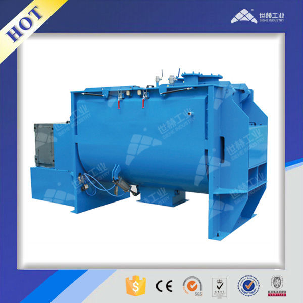Industrial horizontal powder drying mixer | blender with CE